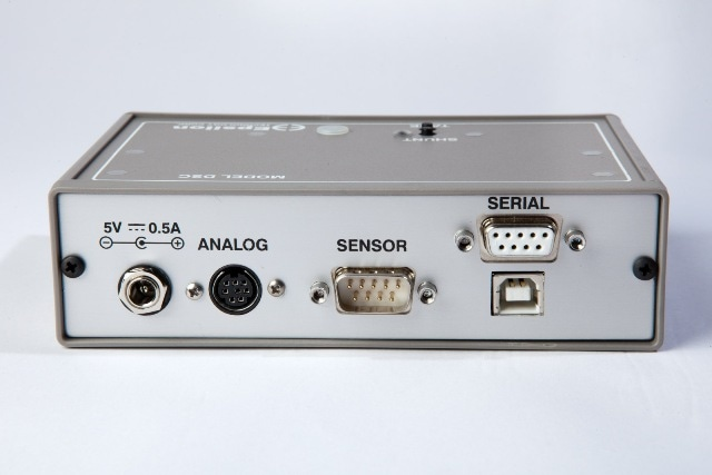 Model DSC single-channel digital signal conditioner (rear panel)