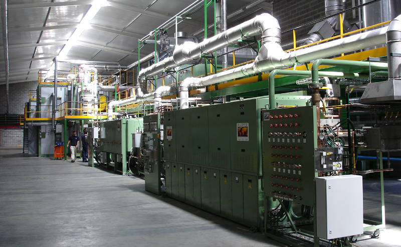 latest fully integrated production lines for carbon nanotubes, carbon fiber and metal oxide materials.