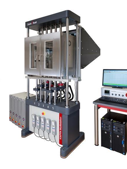Kappa Multistation electromechanical creep testing machine