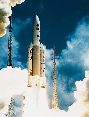 Release of satellites into space