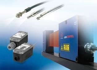 Optical micrometers, fiber optic sensors and fiber optics