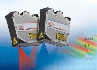 2D/3D profile sensors (laser scanner)