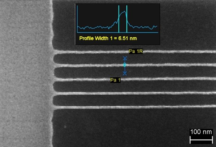 Sub-7 nm lines in HSQ