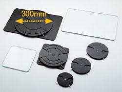 Wafer holders and glass plates