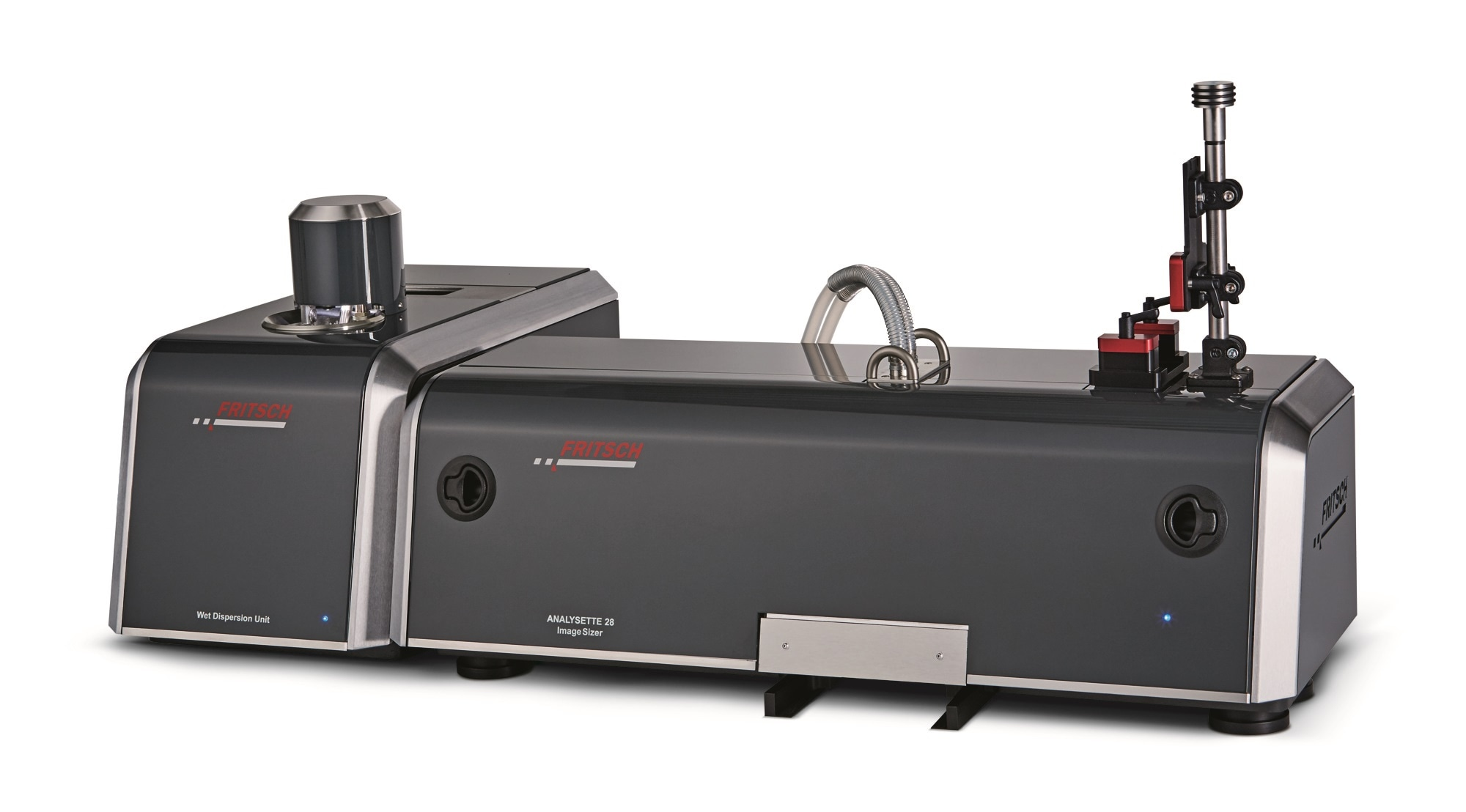 Particle Sizer ANALYSETTE 28 ImageSizer for wet measurement of suspensions and emulsions
