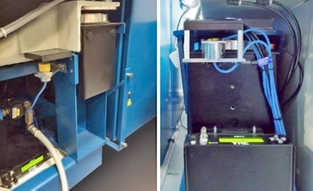 PEPS® II-VX installed on a Precitech Nanoform® X  PEPS® II-VX installed on a Precitech Freeform® L