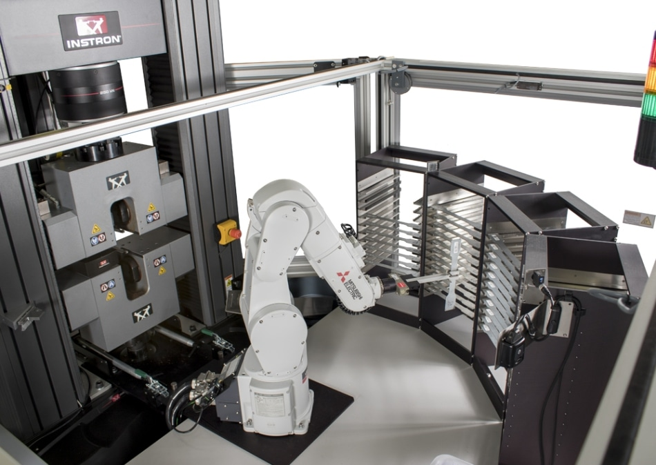 AT6 6-Axis Robotic Testing System for Metals