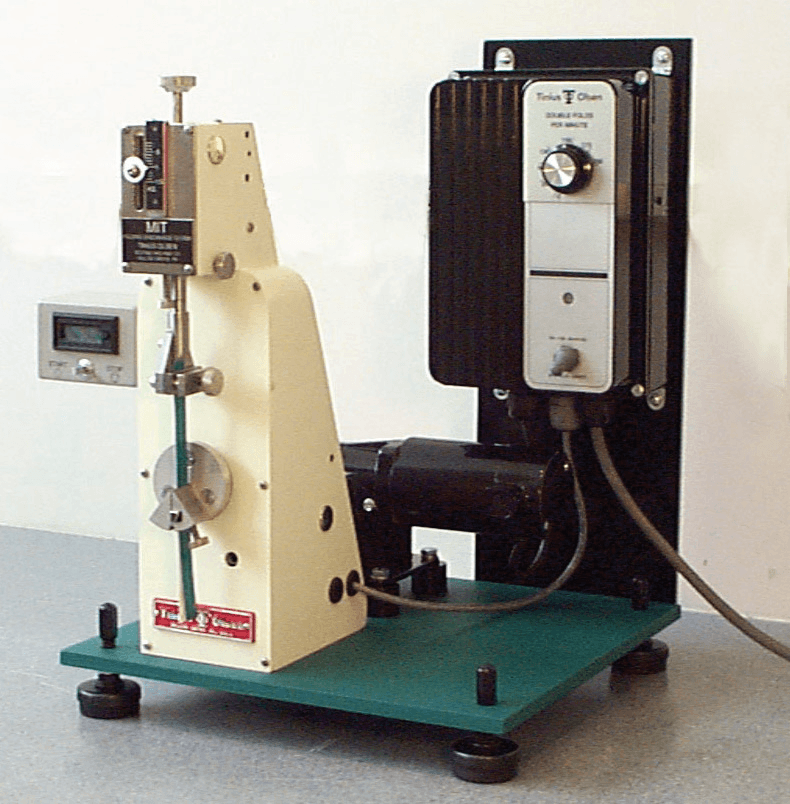 Model 1 Folding Endurance Tester with variable speed control