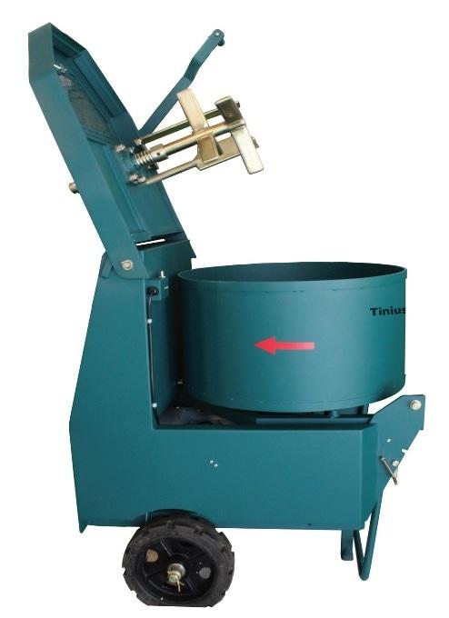TO-9891 pan type concrete mixer