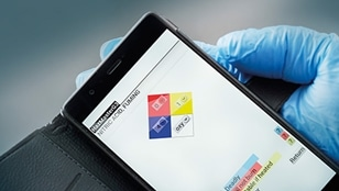 Risk assessment of hazardous substances using Mira DS spectrometer and HazMasterG3 app