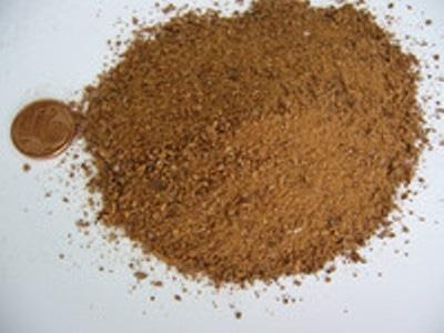 Ground sample.