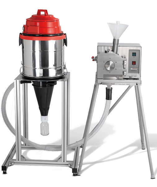 PULVERISETTE 19 with Cyclone separator