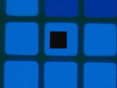 Blue (color masked) pixel sampled with an aperture size of 24 X 24 micron2