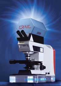 QDI 2000 Microspectrophotometer from CRAIC Technologies.