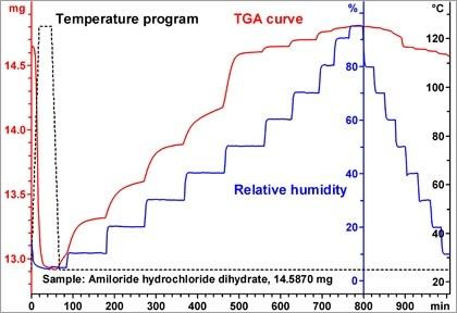 TGA-Sorption analysis