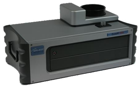 Galaxy Scientific QuasIR™4000 Fourier transform infrared spectrometer with temperature controlled (optional) sample compartment and integrating sphere channels.
