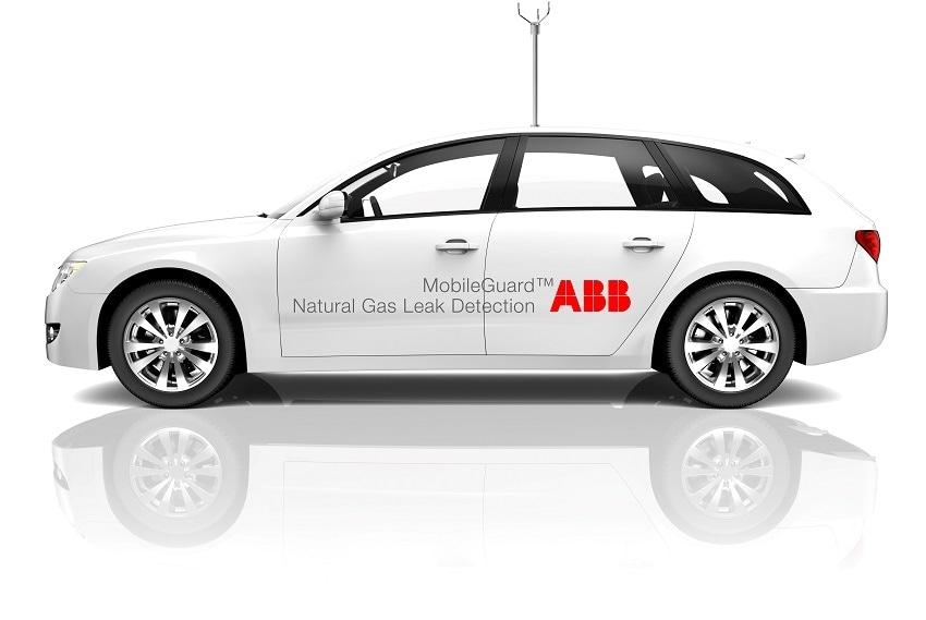 ABB gas leak detector