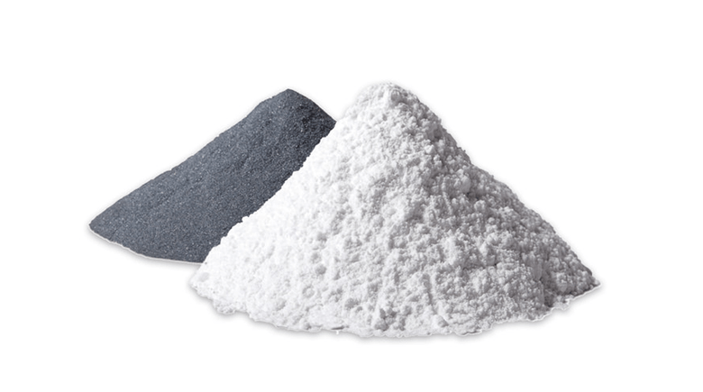 Ground powders for analysis