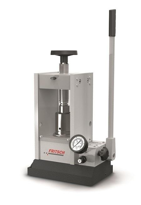 Pellet Press for the preparation of pellets