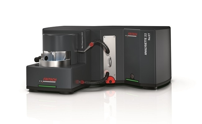 NEW: Laser Particle Sizers ANALYSETTE 22 NeXT – 2 models with different measuring ranges and a measuring time of usually less than 1 minute