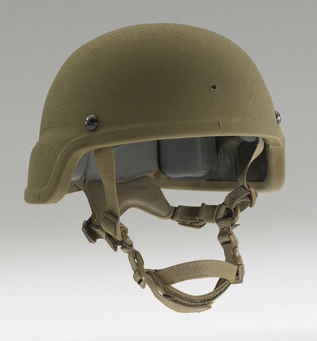 Enhanced Combat Helmet.