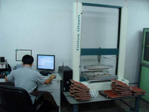 Testing the quality of product with H50KT-W machine