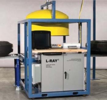 L-Ray Differometric Digital Tire Test Machine Featuring Lumenera CCD Camera.