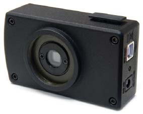Lumenera's Lu105m-CS-WOIR camera used in the Differometric Digital Tire Test Machine.
