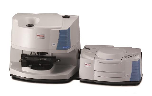 Nicolet iN10 microscope with Nicolet iZ™10 FT-IR module.