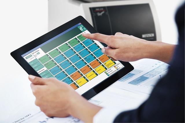 The DSC 214 Polyma SmartMode Software.