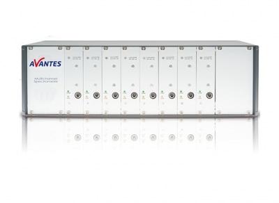 Multichannel AvaSpec spectrometer
