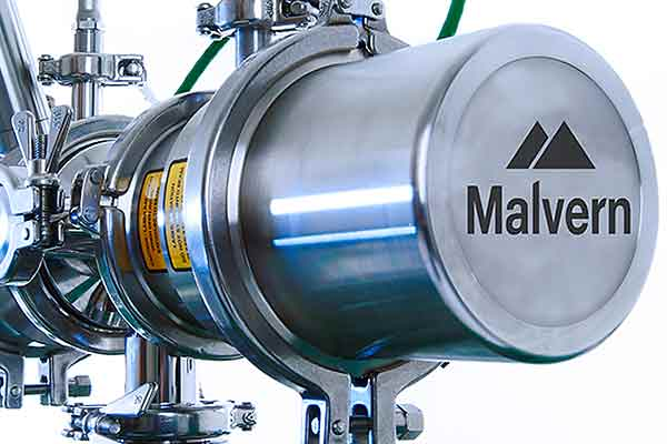 Insitec Dry particle size analyzer.