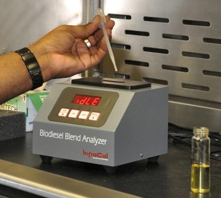 Biodiesel blend analyzer