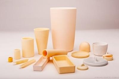 SCERAM's ceramic crucibles and lids.
