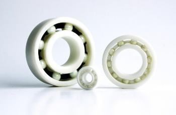 Zirconia Oxide bearings.