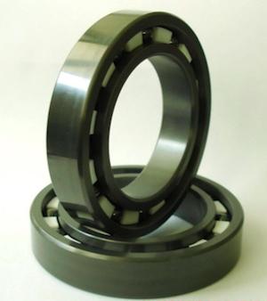 Silicon Nitride bearings.