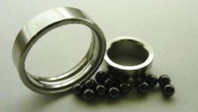 Hybrid bearings.