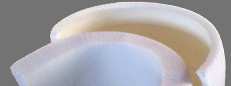 Thermoformed AC grade sheets in different thicknesses.