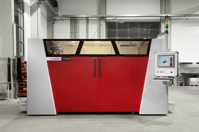 voxeljet's VX2000 printer.