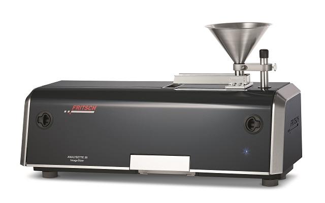NEW: Particle Sizer ANALYSETTE 28 ImageSizer Measuring range: 20 µm – 20 mm