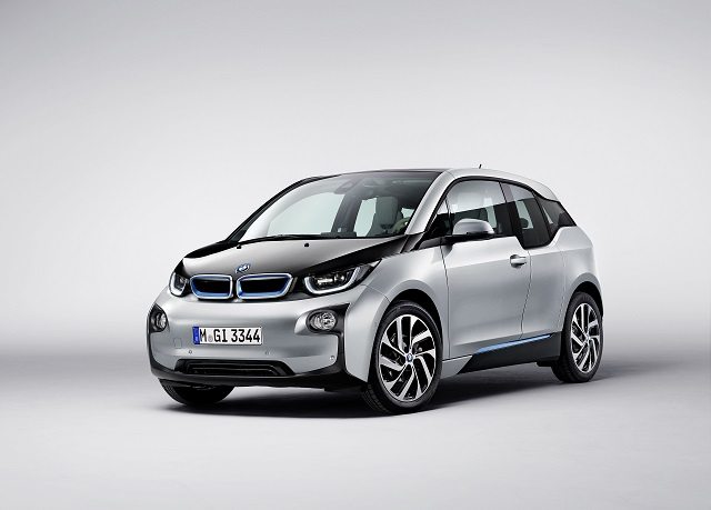 The BMW i3 electric vehicle was designed from start to finish around the electric powertrain. It is comprised of two main sections, a carbon fiber composites-based passenger area and a drive area constructed of aluminum.