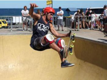 Roller bearings for skateboard