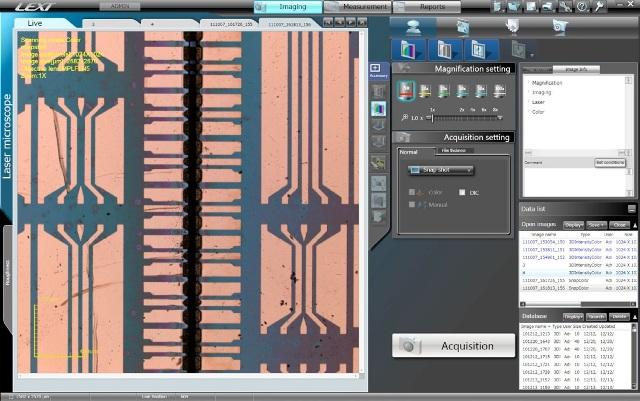 2D image of assembled chips.