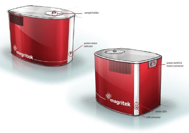 The Magritek Spinsolve™ NMR Spectrometer.