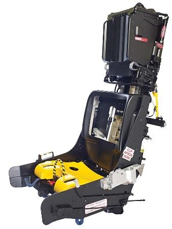 Motion cueing simulator seat