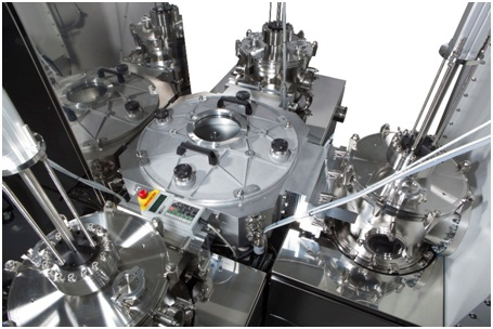 Picosun's PICOPLATFORM™ 200 vacuum cluster system for wafers up to 200mm diameter.