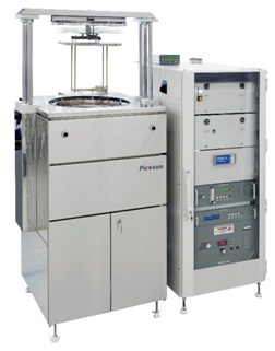 PICOSUN™ P-300B batch ALD tool for high volume production for wafers up to 300 mm, large glass/metal sheets, large batches of 3D objects and powder samples.