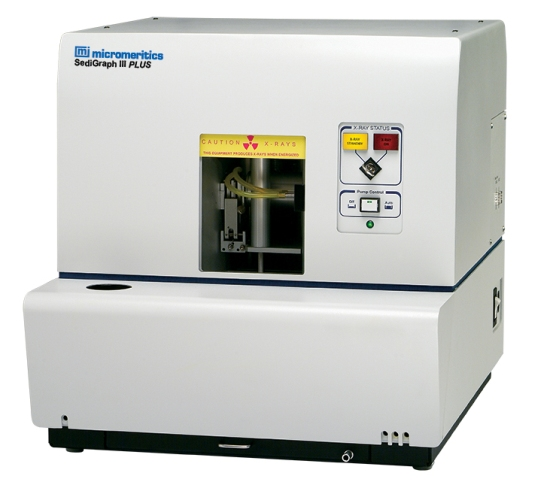 SediGraph III Plus Particle Size Analyzer