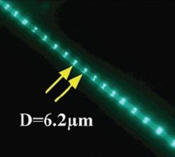 Photoluminescence micrograph