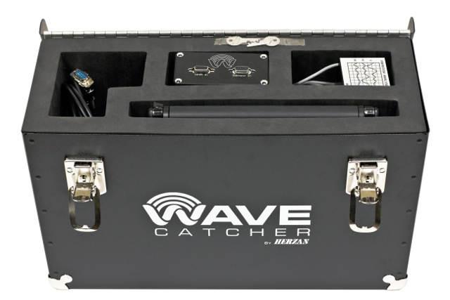 The WaveCatcher site survey kit from Herzan